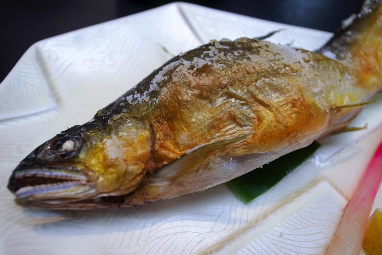 流し白骨温泉郷の白船グランドホテルの滞在記、食事の写真