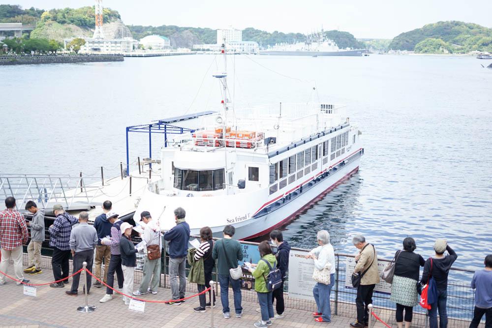 横須賀軍港祭り