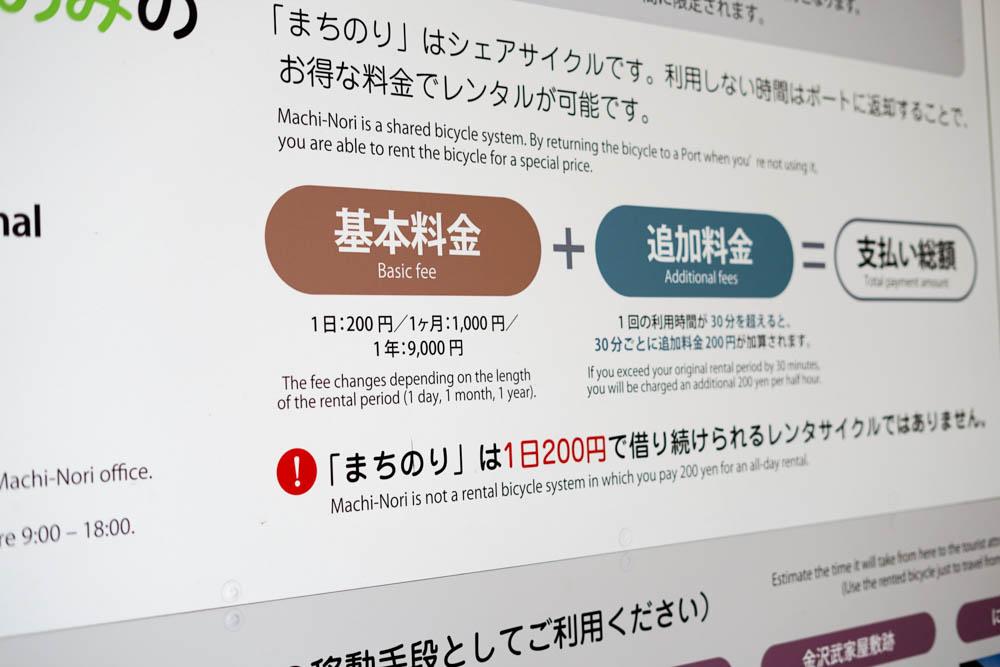 181112 kanazawa rental cycle machinori 03